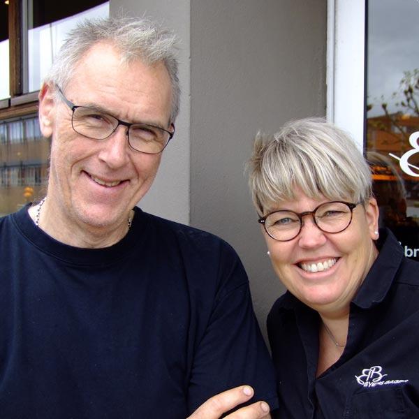 Helle og Henrik Kjærulff fra Byens Bager fik større arbejdsglæde takket være Passion360